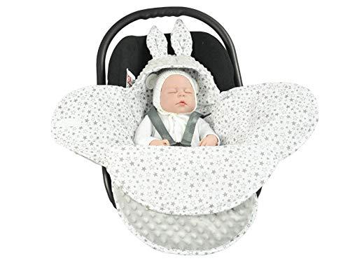 EliMeli Baby Einschlagdecke Babyschale Winter -...