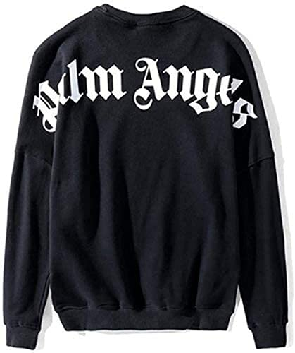 Hoodie Palm Angel Sweatshirt Loose Normal Pullover...