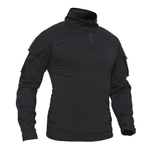 Langarmshirt Herren Sport Winter T Shirts Männer...
