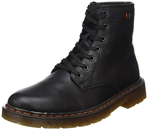 Rieker Herren 32601 Mode-Stiefel, Schwarz, 44 EU