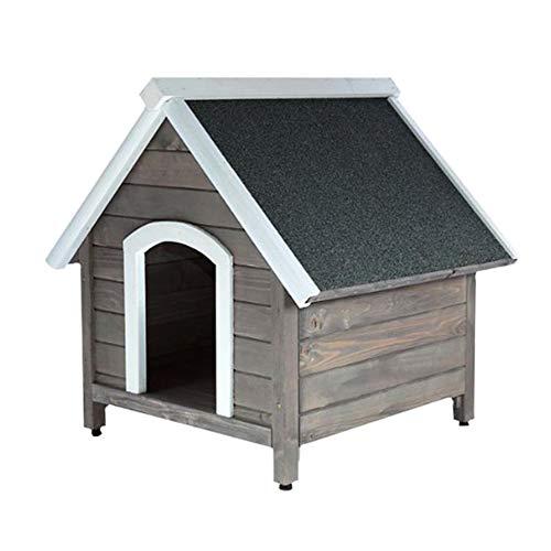 UNUS Hundehütte Outdoor Garten, Hundehaus aus...