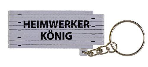 CN Schlüsselanhänger Mini-Zollstock ausklappbar...