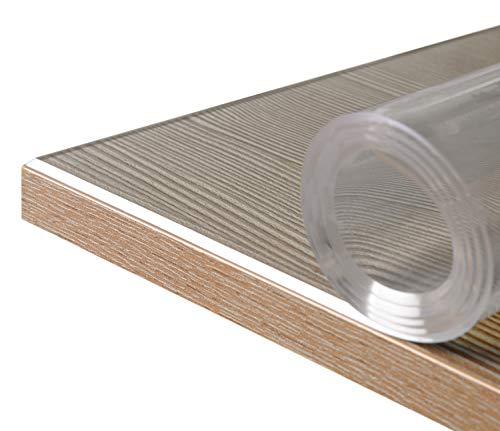 BEAUTEX Glasklar Folie 2 mm + abgeschrägte Kante,...