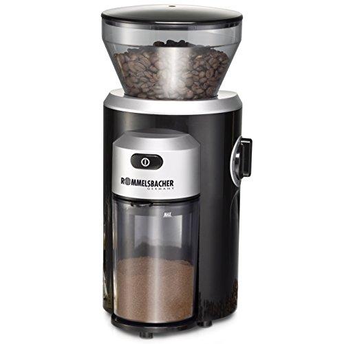 ROMMELSBACHER Kaffeemühle EKM 300 - Kegelmahlwerk...