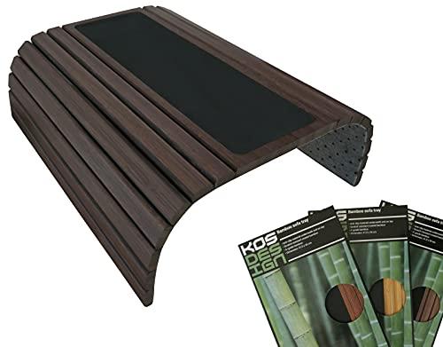 Kos Design Bambus Holz Sofatablett/Sofatisch für...