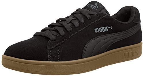 PUMA Unisex Puma Smash V2 Sneaker, Schwarz Puma...