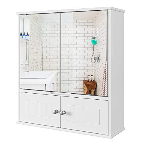 Spiegelschrank Bad Badezimmerschrank mit Spiegel...