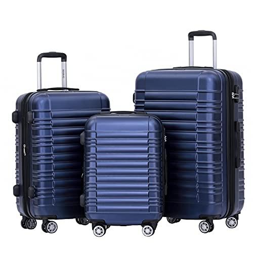 BEIBYE Hartschalen Koffer Trolley Rollkoffer...