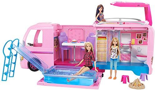 Barbie FBR34 - Super Abenteuer Camper, Puppen...