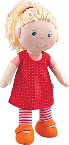 HABA 302108 - Puppe Annelie, Stoffpuppe mit...