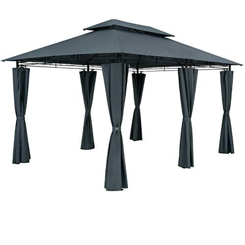 Casaria Pavillon Topas 3x4m Wasserabweisend Metall...