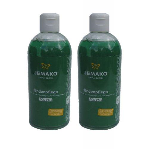 Jemako Bodenpflege 1 Liter (2 Flaschen á 500ml)