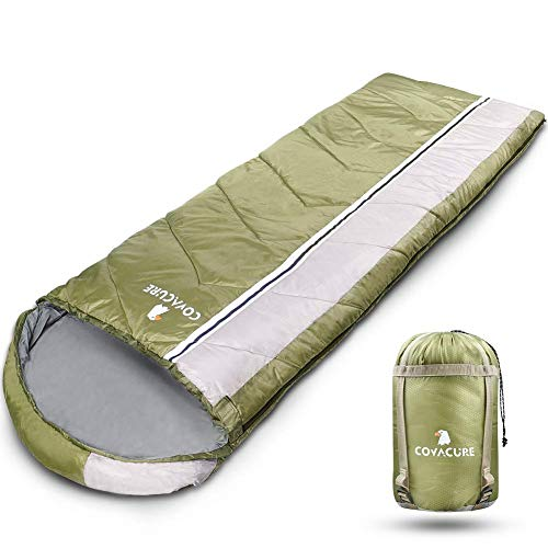 COVACURE Schlafsack Camping - Leicht, Kompakt,...