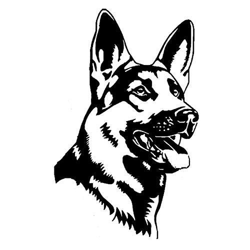 BLOUR 11,6 * 18,5 cm Deutscher Schäferhund...