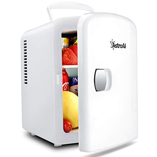 AstroAI 2 in 1 Mini Kühlschrank, 4 Liter Fridge...