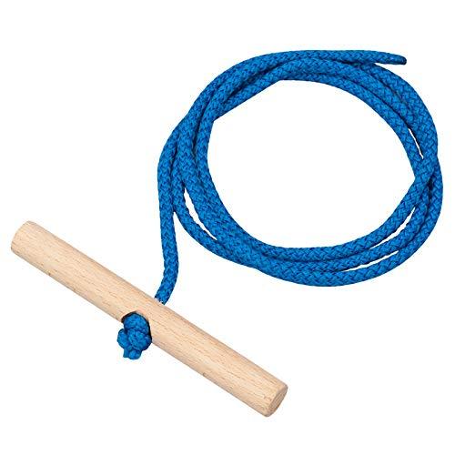 Vispronet Schlittenleine 150 cm, Farbe Blau, mit...