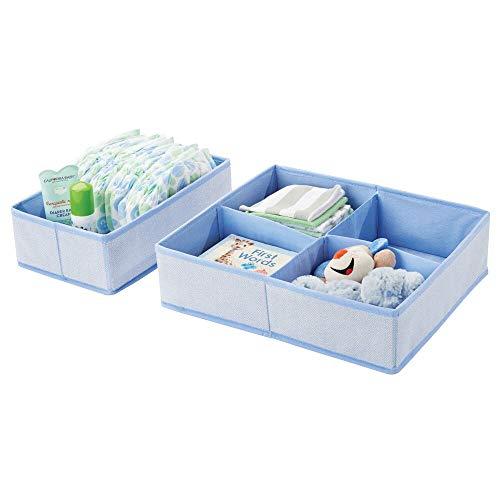mDesign 2er-Set Aufbewahrungsboxen für...