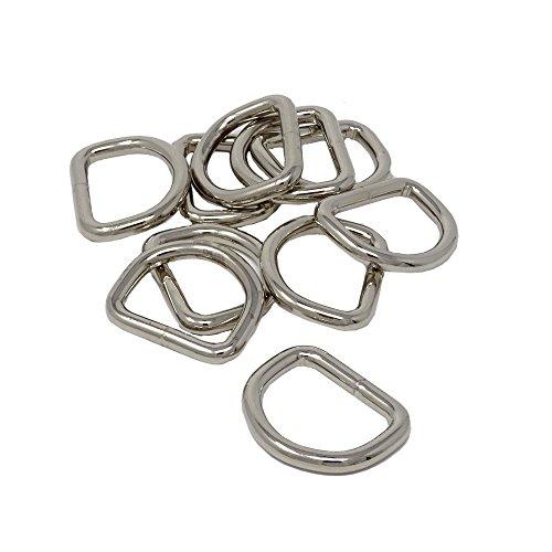 SBS D-Ring | 10 Stück | 35 x 27 mm | Stärke 4mm...