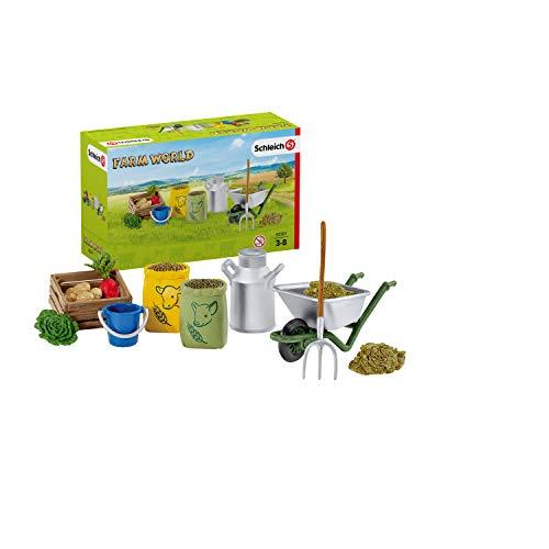 Schleich 42301 Farm World Spielset - Fütterung...