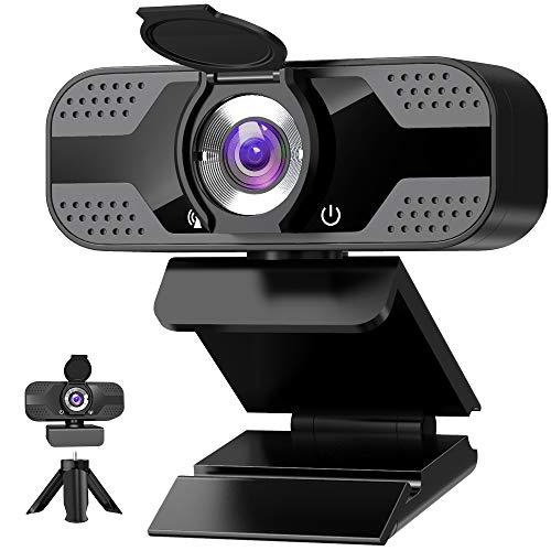 Webcam mit mikrofon 1080P Full HD mit Webcam...