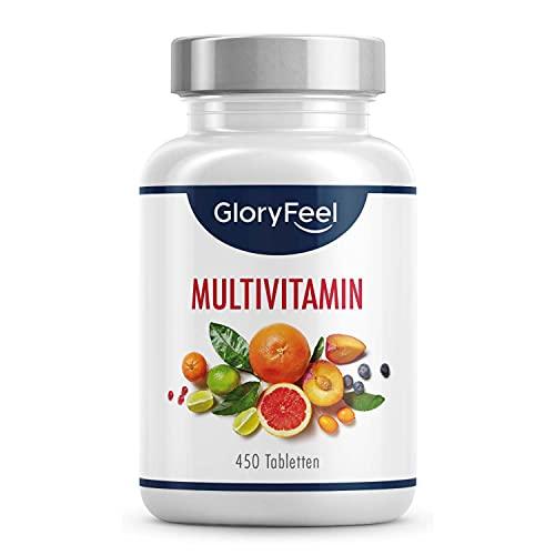 Multivitamin Hochdosiert - 450 Tabletten (15...