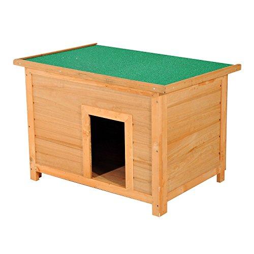 Pawhut Hundehütte Hundehaus Hundehöhle Hütte...