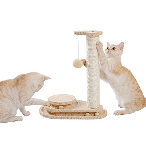 Umi by Amazon Cat Scratching Post Small Exquisite...