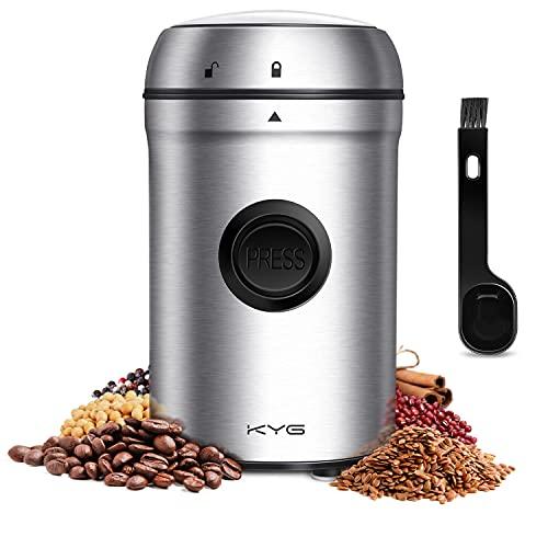 KYG Kaffeemühle 200W Elektrische Propellermühlen...