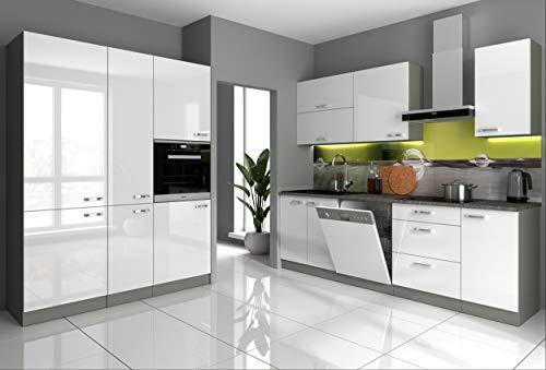 Küche Bianca I 240 + 160 cm Küchenzeile...
