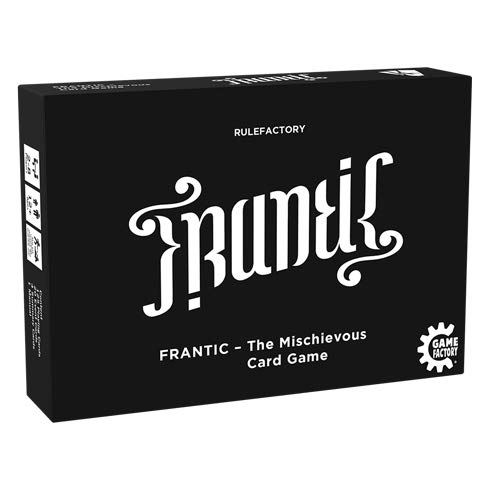 Game Factory 646226 Frantic-The Mischievous Card...