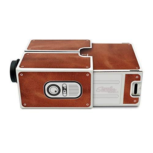 HaiQianXin DIY Mini-Smartphone-Projektor tragbarer...