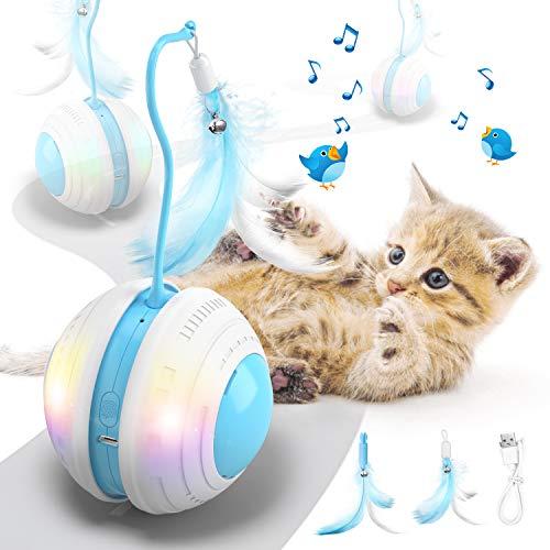 Jionchery Interaktives Katzenspielzeug für...