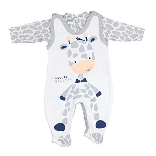 TupTam Baby Unisex Strampler-Set mit Aufdruck...
