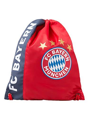 FC Bayern München Sportbeutel rot, Turnbeutel zum...