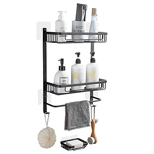 DUFU 2 Stufe Regal für Bad Dusche Ablage...