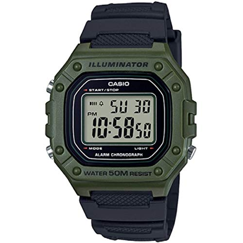 Casio Herren-Armbanduhr W-218H-3AVEF