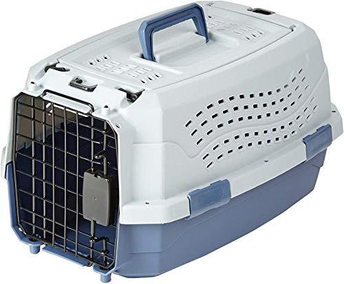 Amazon Basics Transportbox für Haustiere, 2...