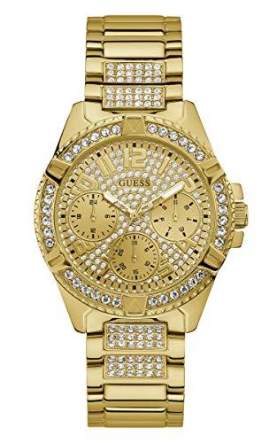 Guess Damen-Uhren Analog Quarz One Size Gold...