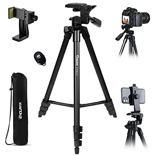 Endurax Kamera Stativ 153cm/60' Erweiterbarer...