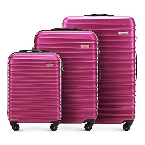 WITTCHEN Koffer – Set of 3 | hartschalen,...