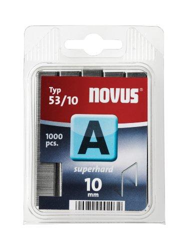 Novus Feindrahtklammern superhart 10 mm, 1000...