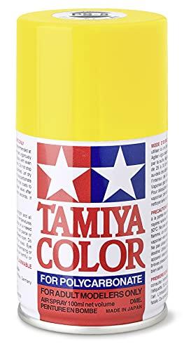 TAMIYA 86006 PS-6 Gelb Polycarbonat...