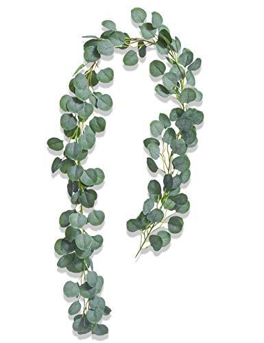 Eukalyptus Girlande Künstlich Pflanze, Eukalyptus...
