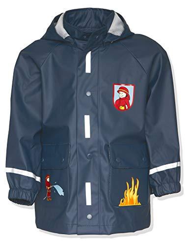 Playshoes Jungen Regen-mantel Feuerwehr...