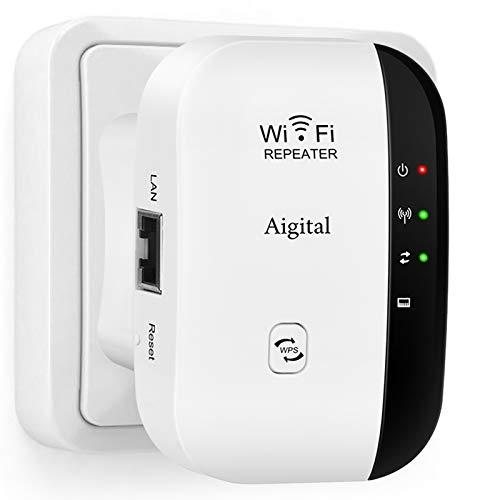 Aigital WLAN Repeater 300mbit/s, WLAN Verstärker...