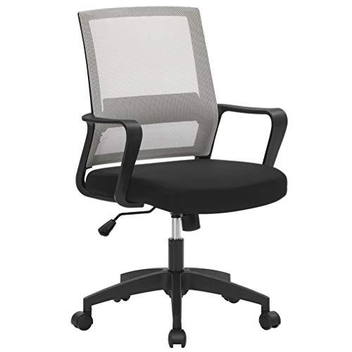 SONGMICS Bürostuhl, Schreibtischstuhl, drehbar,...