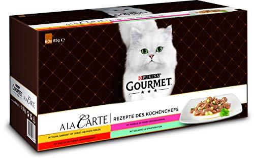 PURINA GOURMET A la Carte Katzenfutter nass,...