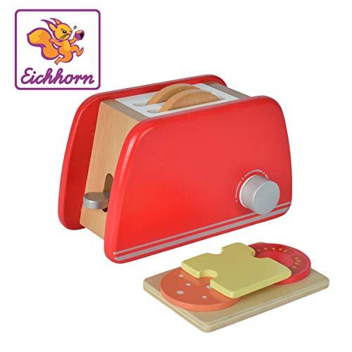 Eichhorn 100002487 - Toaster aus Holz mit...
