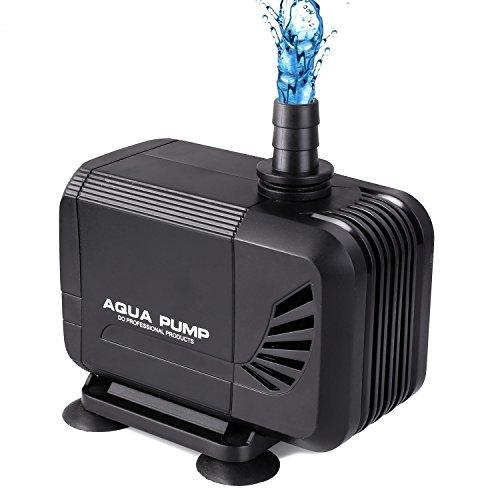 MVPower 3000L/H Wasserpumpe Aquarienpumpe...