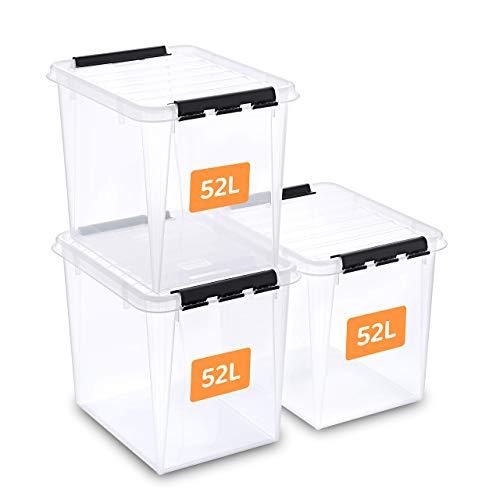 SmartStore aufbewahrungsbox mit deckel, 52 l,...